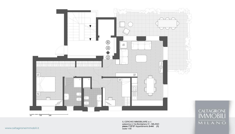 bordighera 31 piantina appartamenti 2 4 6 piano